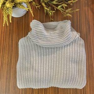 Zara Knit Cowl Neck Knit Pullover Sweater